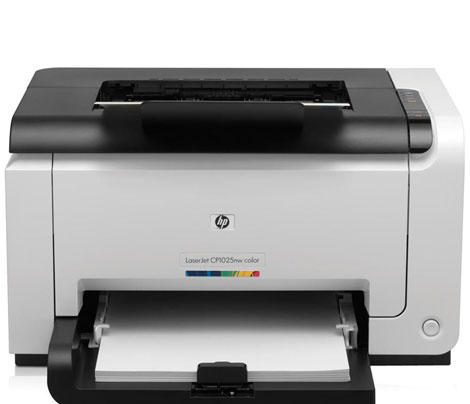 Принтер HP Color LaserJet CP1025NW