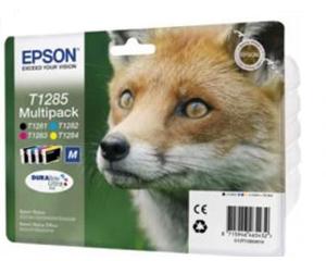 Набор картриджей Epson Stylus S22 / SX125 Color (T1285) оригинальных струйных 4 шт.