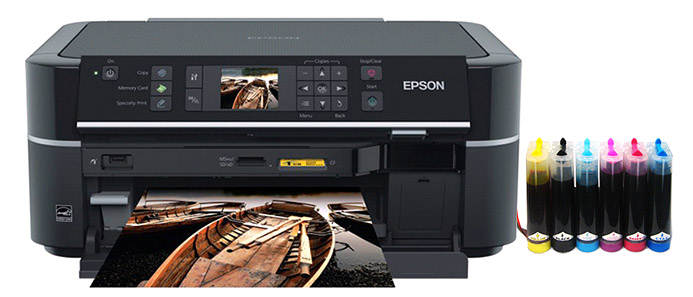 Принтер с СНПЧ Epson Stylus Photo TX650