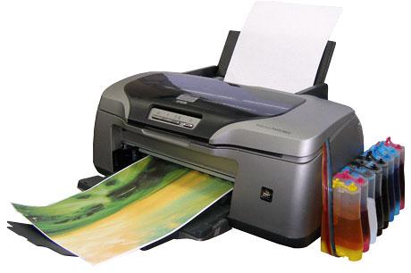 Принтер с СНПЧ