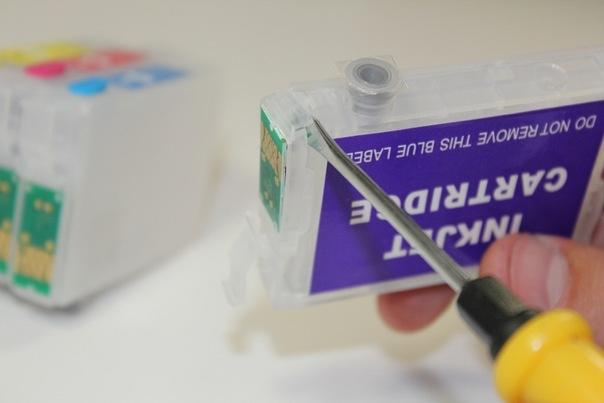 Извлекаем батарейки из чипов