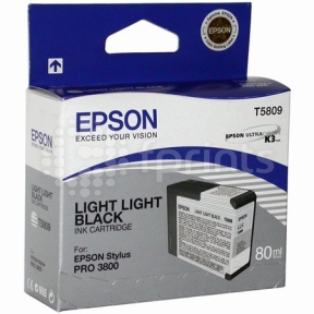 Картридж Epson T5809 Light-Grey